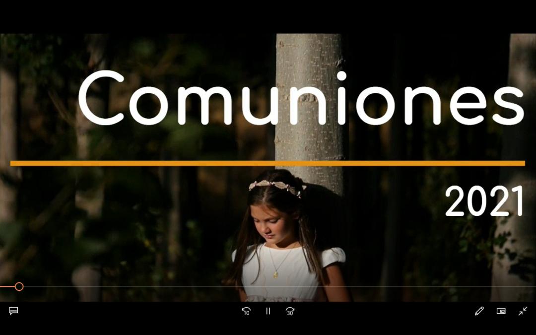 Conchi Narváez Fotógrafa – Comuniones 2021 [VÍDEO]